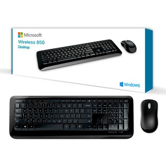 Combo Microsoft Teclado Y Mouse 850 Inalambrico
